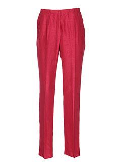 pauporté pantalons femme de couleur rose