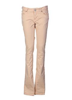 heartless jeans pantalons femme de couleur rose