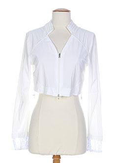 3322 vestes femme de couleur blanc (photo)