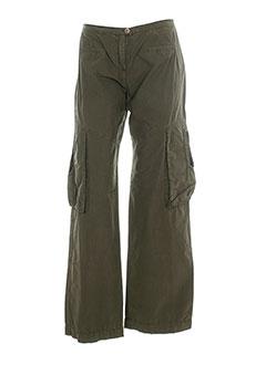 womn pantalons femme de couleur marron