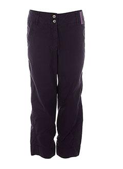 womn pantacourts femme de couleur violet