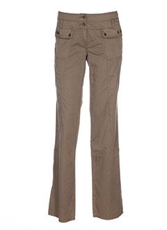 newpenny pantalons femme de couleur vert