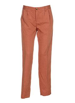 obey et propaganda pantalons et decontractes femme de couleur orange