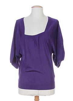 gerard darel pulls femme de couleur violet