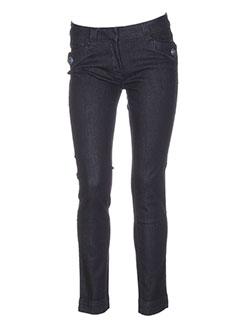 trussardi et jeans pantalons et decontractes femme de couleur bleu