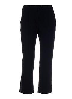 april may pantalons femme de couleur noir