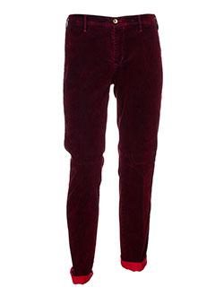 mmx pantalons et decontractes homme de couleur rouge