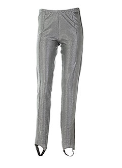 nor denmark pantalons femme de couleur gris