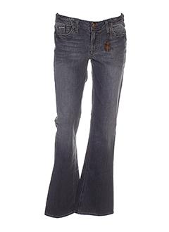 j & company jeans femme de couleur gris