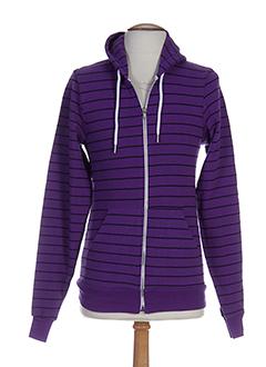 american apparel vestes homme de couleur violet