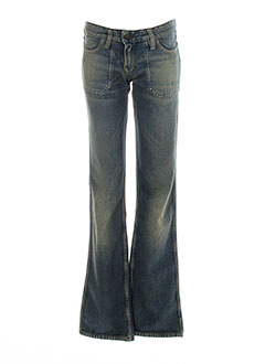 meltin'pot jeans femme de couleur bleu