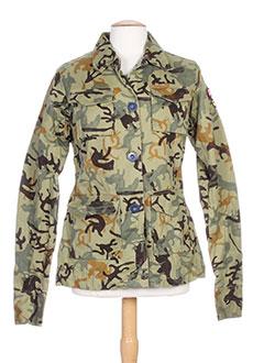 55 et dsl vestes femme de couleur vert (photo)