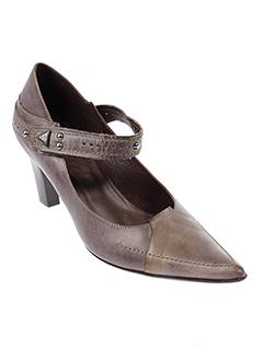 muratti escarpins femme de couleur gris