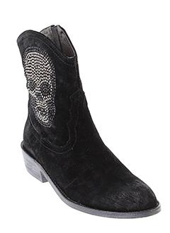 adige boots femme de couleur noir