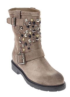 janet et sport boots femme de couleur beige