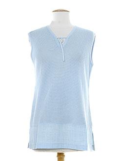erica rossler pulls femme de couleur bleu