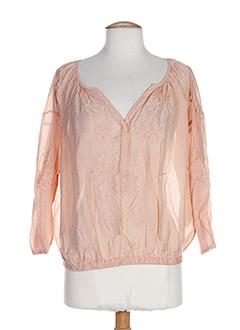 vila t-shirts femme de couleur orange