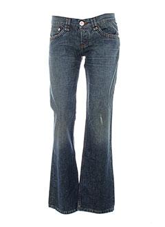 pinko jeans femme de couleur bleu