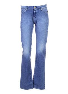 acquaverde jeans femme de couleur bleu