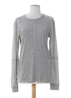 bray t-shirts femme de couleur gris