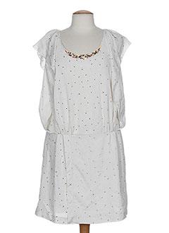 deby debo robes femme de couleur blanc