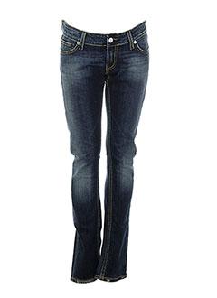 blue blood brand jeans femme de couleur bleu