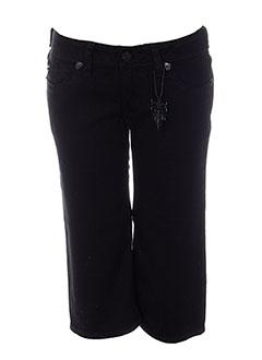 j & company shorts / bermudas femme de couleur noir