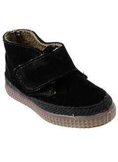 natural et world boots enfant de couleur noir