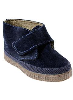natural et world boots enfant de couleur bleu