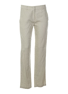 zyga pantalons homme de couleur beige