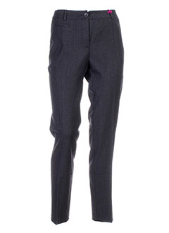 seventy by sergio tegon pantalons femme de couleur gris
