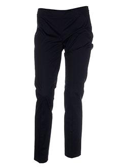 seventy et by et sergio et tegon pantalons et citadins femme de couleur noir
