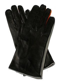 buscarlet echarpes et gants femme de couleur noir