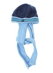 Bonnet bleu BOBOLI pour garçon seconde vue