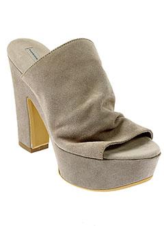 tosca et blu et shoes mules et sabots femme de couleur beige