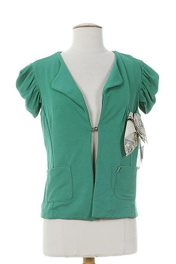 rinascimento vestes femme de couleur vert