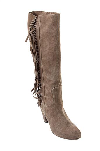 venezia bottes femme de couleur marron