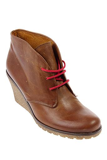gabor boots femme de couleur marron