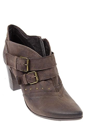 khrio boots femme de couleur marron