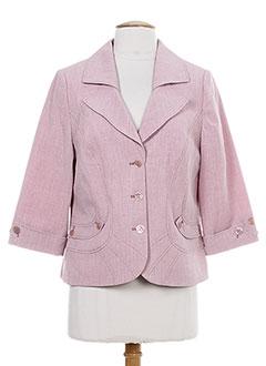 Veste chic / Blazer rose KARTING pour femme