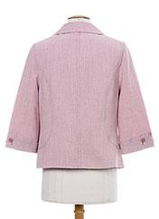 Veste chic / Blazer rose KARTING pour femme seconde vue