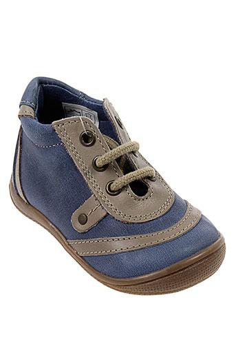 orchestra chaussures garçon de couleur bleu