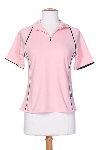 glenmuir t-shirts femme de couleur rose