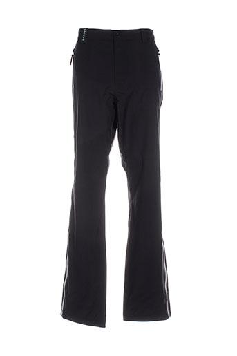 chervo sport pantalons homme de couleur noir