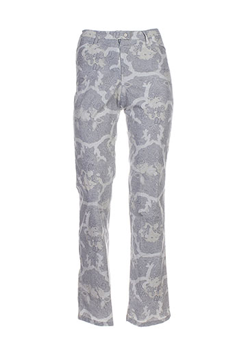 chervo sport pantalons femme de couleur gris