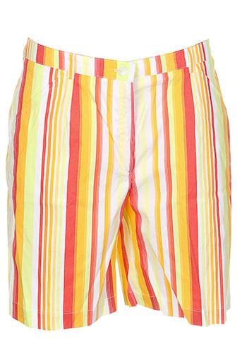 marie.valois shorts / bermudas homme de couleur orange