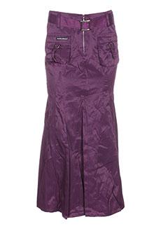 des et filles et a et la et vanille jupes et longues femme de couleur violet