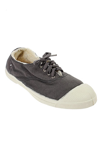 bensimon baskets homme de couleur gris