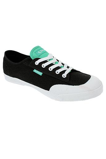 feiyue chaussures femme de couleur noir