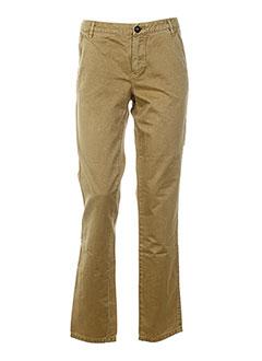 chipie pantalons femme de couleur beige